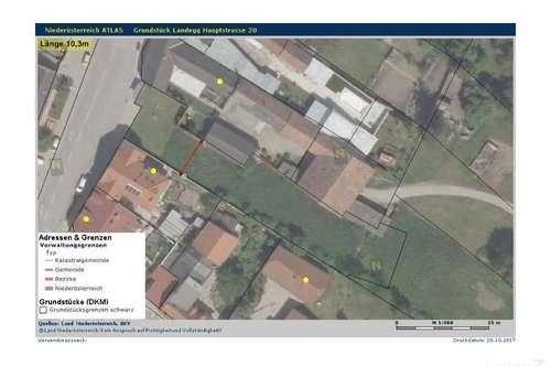 Baugrundstück in Pottendorf Landegg zu verkaufen