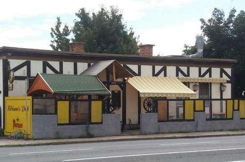 Traditionelles kleines ANLEGER-PUB in der sehr stark frequentierten Rosentalerstraße
