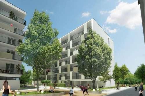 Provisionsfrei - Puntigam - Brauquartier - Erstbezug - 52m² - 2 Zimmer  - Pärchenwohnung