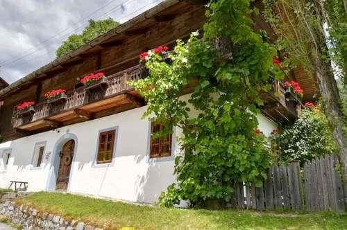 Authentisches und liebevoll restauriertes Bauernhaus in Berglage im Mölltal