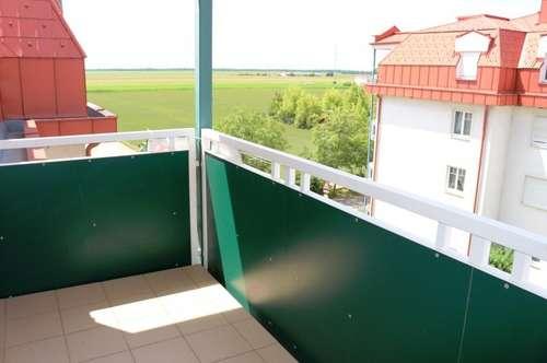10 Gehminuten zum Bahnhof Gänserndorf!! Wohlfühlwohnung mit 3 Zimmern und Balkon! Zentral begehbar, Garagenplatz im Eigentum! Nett und gepflegt!