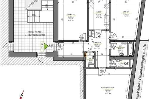 PROVISIONSFREI FÜR DEN MIETER! Schöne 2 Zimmer Wohnung in St. Peter! WG-fähig mit Balkon und TG-Platz!