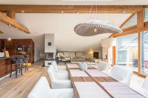 Edle Penthouse-Wohnung in Skipisten- und Zentrumsnähe