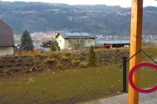 Schöne 3-Zimmer-Gartenwohnung mit Terrasse und Badestrandnutzung am Ossiacher See