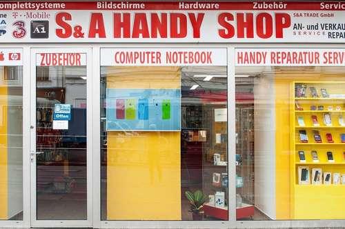 Handy- und Reparaturgeschäft