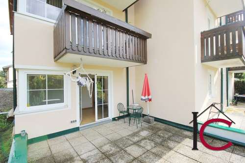 Schöne 2-Zimmer-Mietwohnung mit Terrasse und Gartenbereich in kleiner Wohnanlage