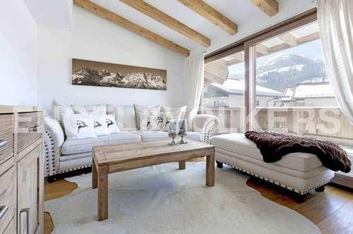 W-02C0NZ Modern - alpine Dachgeschoss-Maisonette mit Blick