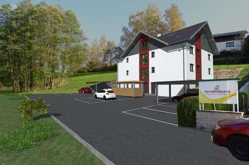 Bauvorhaben: Wohnungen mit Terrassen, Balkon und Carport - Nähe Oberndorf - Salzburg