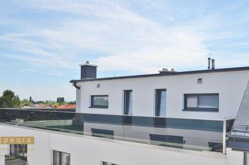 Neubau und Provisionsfrei! Herrliche Dachgeschoßwohnung mit 164 m² Dachterrasse, keine Dachschrägen! 2 Badezimmer