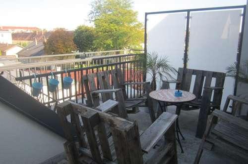 LUXUS Dachterrassesnneubau mit 4 Zimmer +Terrasse +Einbauküche + Fernsicht