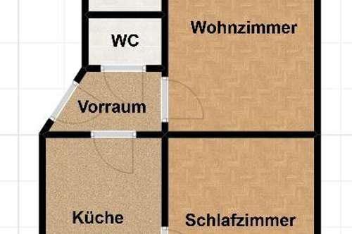 Pärchenhit! Schöne 2 Zimmer Wohnung in der Nähe der Josef Kirche!