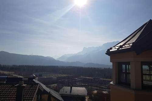Salzburg/Puch : Herrliche 3-Zi.-Whg. mit 35m2 -Terrasse und Traum-Bergblick + 2 Parkplätze