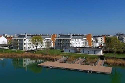DIREKT AM SEE!!! NEUBAU!!! Wunderschöne 3-Zimmer-Wohnung mit ost-seitigem Balkon im 2.Liftstock und PKW-Stellplatz
