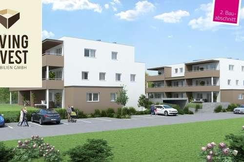 2. Bauhauschnitt! Leistbare Eigentumswohnungen im Herzen von Kefermarkt! TOP B03 EG-Ost