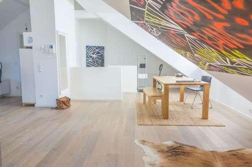 Absolute Ruhelage! Drei-Zimmer Maisonette-Dachgeschosswohnung mit Terrasse in Wien Hernals!
