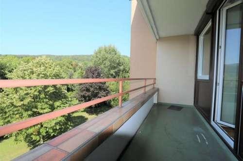 Gepflegte 3-Zimmer-Wohnung im 3. Liftstock mit Loggia und Tiefgaragenplatz beim Doblhoffpark/97