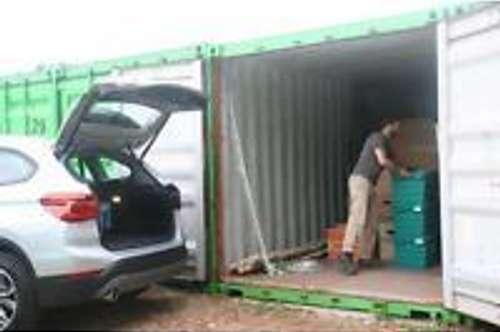 Vermiete Container Lagerraum, Garage