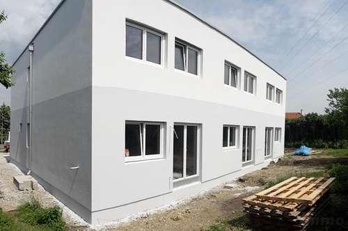 Rohbau und Fassade fertig - Schönes Reihenhaus mit reizendem Süd-Garten - Erstbezug (belagsfertig) - Enzesfeld im Bezirk Baden - nur ca. 30min von Wien