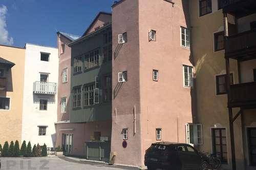 Rarität: Altstadtwohnung mit Terrasse und Kleingarten   Hallein