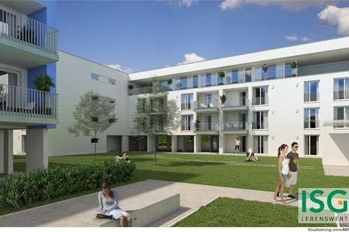 """Neubauprojekt """"living blue"""" in Braunau, Michaelistraße, Eigentumswohnung Top 9, Typ D"""