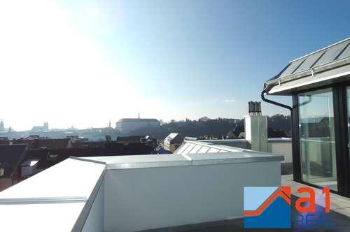 Erstbezug: Exklusive Wohnung mit einzigartiger Dachterrasse in Urfahr!