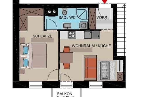 ERSTBEZUG nach Sanierung: Mietwohnung mit Balkon im Fürstenfelder Zentrum!