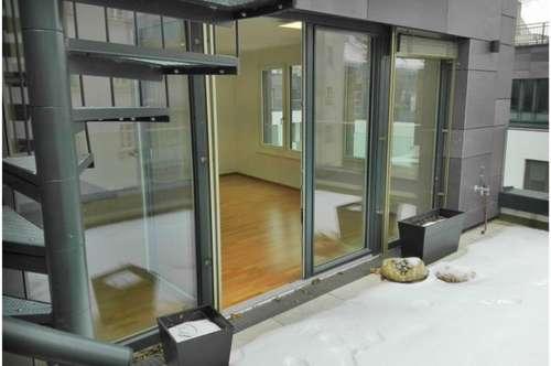 moderne Neubau-Wohnung + 65m² Terrasse