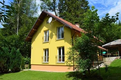 Einfamilienhaus am Semmering - offener Kamin