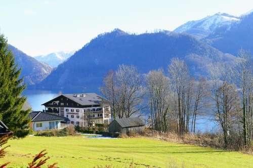 Unverbaubare Traumlage mit herrlichem Seeblick !  Landhaus mit zusätzlicher Bau und Grünlandparzelle