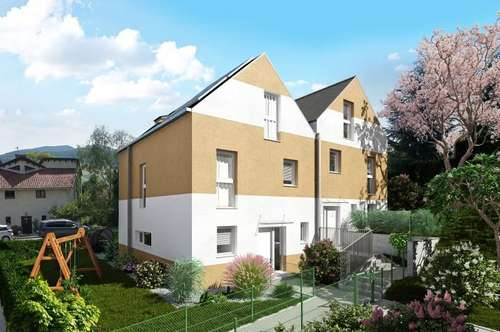 Doppelhäuser mit großem Garten und schönem Ausblick im Herzen von Gablitz
