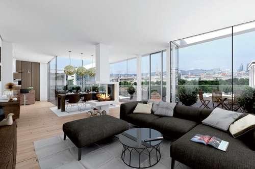 Äußerst beliebt: Ideale Terrassenwohnung mit hoher Qualität im trendigen 3. Bezirk