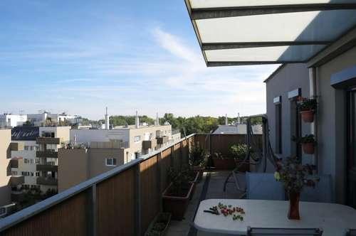 Dachterrassenwohnung mit Blick über Wien!!