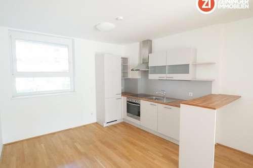Top 2 ZI-Wohnung in toller Lage mit Garten und Küche - vollmöbliert