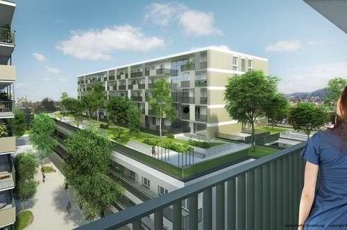 Puntigam - Brauquartier - Erstbezug - 72m² inkl. Loggia - 3 Zimmer - inkl. TG
