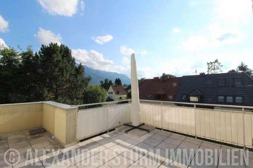 GNEIS | teilmöblierte 3 Zi.-Wohnung mit großer Sonnenterrasse in Ruhelage