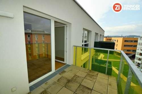Gepflegte 2 ZI-Wohnung - inkl. Küche u. Balkon - Nähe Med Uni