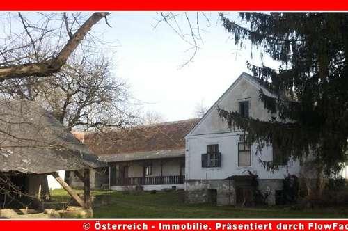 4-Kanthof - komplette alte Mühle - 5,4 ha - 1618