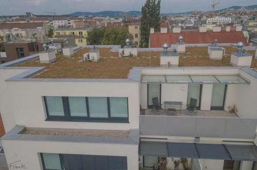 Neubau mit Terrasse in Gaudenzdorf!