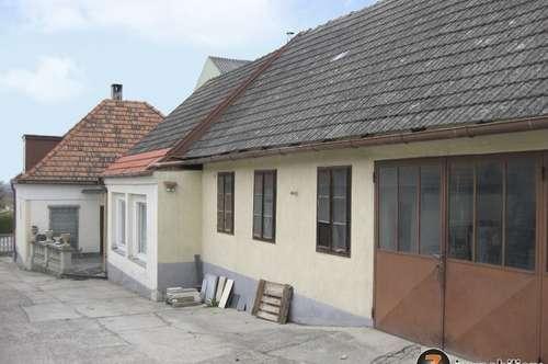 Einfamilienhaus samt Nebengebäuden