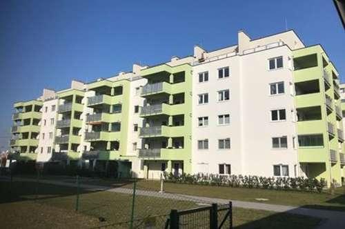 Erstbezug – 3-Zimmer-Wohnung im 5. Liftstock mit großer westseitiger Dachterrasse und 1 PKW-Stellplatz im Freien