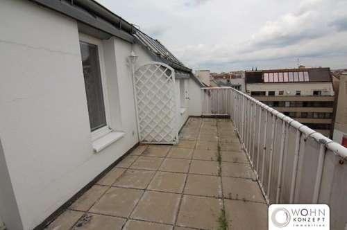 Nette Maisonette-Wohnung mit Terrasse