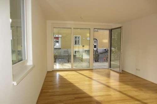 Nonntal: Attraktive 2-Zimmer-Terrassenwohnung