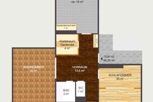 ++HELLE und GERÄUMIGE ++ WUNDERSCHÖNE 3-Zimmerwohnung ++ 96 qm2 ++LOGGIA++ IDEAL für Familien ++