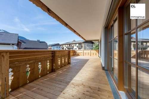Fuschl am See: Begehrte 4-Zimmerwohnung mit 42 m2 großem Balkon