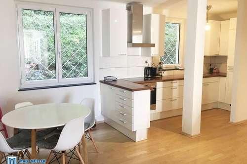 2-Zimmer-Altbauwohnung mit CHARME | 55 m2 am Fuße des Mönchsbergs mit eigenem Garten/Terrasse | Mülln
