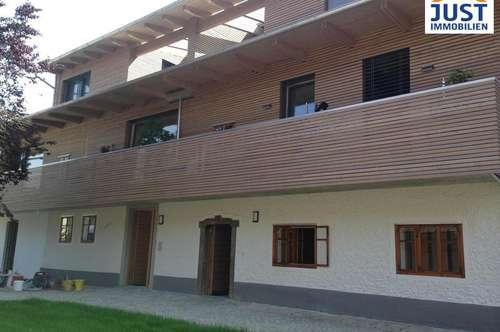 100 m²-MAISONETTE, ÜBERDACHTE TERRASSE, BALKON, CARPORT,...