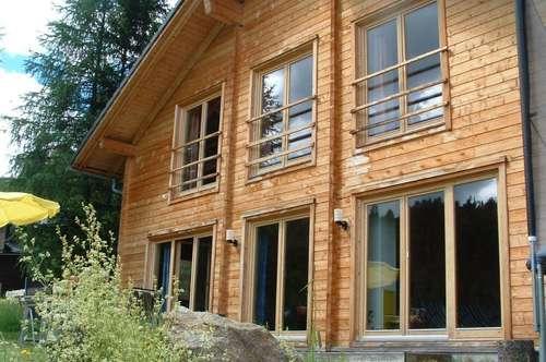 Bioholzhaus mit Sauna auf der Turracherhöhe