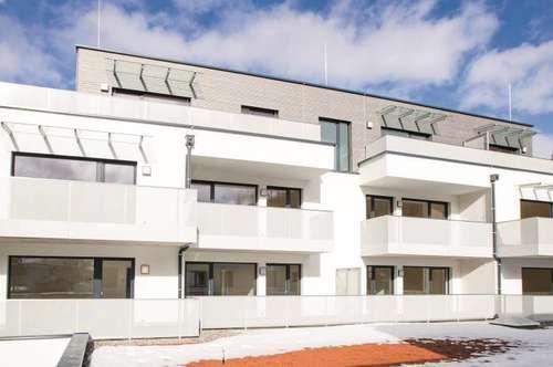 NEUBAU: Geförderte 3-Zimmerwohnung mit Balkon und Tiefgaragenabstellplatz