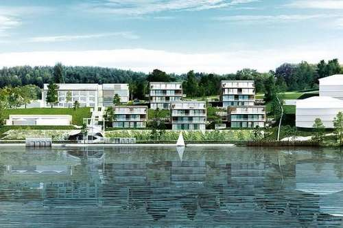 Penthaus und Wohnung mit Badeplatz und SPA direkt am Wörthersee