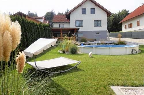 +Traumhaus mit wunderschönem Garten, Garagen, sensationellen Ausblick und VIELEM MEHR, mit bester Verkehrsanbindung nähe Oberpullendorf zu verkaufen!+